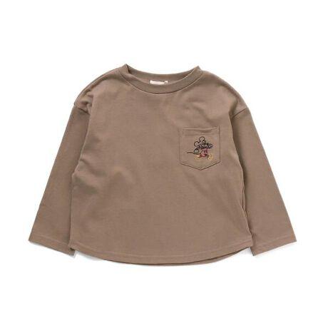 ディズニーシー20周年記念!Seraphからミッキー&ミニーのコラボアイテムが登場!胸ポケットにはミッキー、ミニーの刺繍が施されコーデのアクセントに。秋らしい落ち着いた色合いなのでやわらかな雰囲気に仕上がります。厚めの生地感なので、初秋から秋までご着用いただけます。Girl'sのワンピースと合わせて、きょうだいお揃いでリンクコーデにもオススメ♪#FOKIDSMART【サイズ情報】80:着丈33 身幅33.5 肩幅34 袖丈21 袖口幅8.590:着丈35 身幅34.5 肩幅35 袖丈23.5 袖口幅8.595:着丈37 身幅35.5 肩幅36 袖丈25 袖口幅8.5100:着丈39 身幅36.5 肩幅37 袖丈27 袖口幅9110:着丈41.5 身幅37.5 肩幅38 袖丈31.5 袖口幅9120:着丈44.5 身幅39.5 肩幅40 袖丈35.5 袖口幅9130:着丈47.5 身幅41.5 肩幅42 袖丈39.5 袖口幅9.5140:着丈50.5 身幅43.5 肩幅44 袖丈43.5 袖口幅9.5※商品により多少の誤差が生じる事がございます。あらかじめご了承下さい。※サイズは、平置きの状態で、商品の【外寸】を測定した物です。[型番:S406021]
