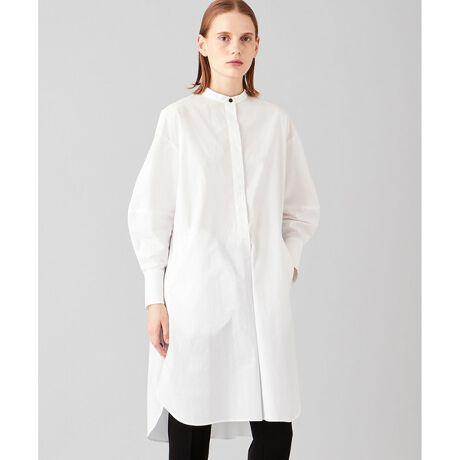 ジョゼフ ウィメンの【洗える】コットンルーズシャツ ロング シャツ。SARAH 【洗える】コットンルーズシャツ ロング シャツ¥定番のシャツにモードなデザイン性を掛け合わせたオシャレ度MAXの一枚¥¥■デザインマスキュランなロングシャツにボリュームある袖を組み合わせた、デザイン性のある1枚。WHITEのときはブラックのボタンを組み合わせて、更にアクセントをプラス。PONYのニットポンチョとレイヤードが◎。定番のシャツコーデに差し替えるだけで簡単にモード感をアップするアイテムです。¥¥■素材高密度に織られた、ドライなタッチが特徴のコットンタイプライター素材。程よい張り感と、ポリウレタン混でさらりとした着心地の良さを兼ね備えたシャツ地。清潔感のあるホワイトと、ベビーブルーの二色展開。¥※画像はサンプルを使用しているため、実際にお届けする商品と仕様やサイズが異なる場合がございます。※画像の商品はサンプルです。実際の商品と色味、仕様、加工、サイズ、素材等が若干異なる場合がございます。※照明の関係により、実際よりもやや明るく見える場合がございます。またパソコンなどの環境により、若干製品と画像のカラーが異なる場合もございます。予めご了承くださいませ。¥[型番:BLJRIS0036]