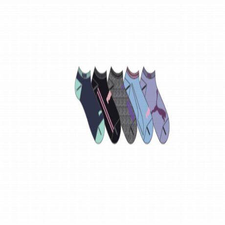 プーマ(PUMA)のお得なソックス5足セット。スニーカー用ソックス5種類の柄をあしらったスポーティーなソックス詰め合わせ。自分用にも、ギフトにも。*商品の返品・交換は不良品のみ承ります。*画像はイメージです。*素材・原産国・洗濯表記は商品に付いてあるケアラベル、縫い付けタグをご覧ください。[型番:03562001]