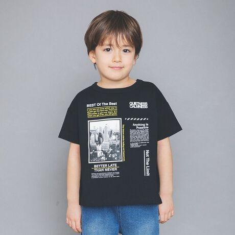 ブランシェスの【WEB限定】裾スリット半袖Tシャツ。裾のスリットデザインでアクセントを加え、リラックス感のあるシルエットに仕上げた半袖Tシャツです。プチプライス&全てプリントデザインが異なるため、柄違いで揃えたくなるアイテムです。※オンラインショップおよび一部店舗での取り扱いとなります。子ども 子供 こども 子供服 キッズ ジュニア 男の子 女の子[型番:11-1506-570]