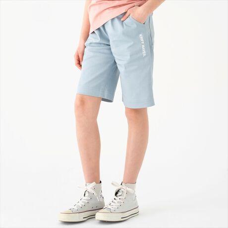 クリフメイヤーキッズのUSEショーツ[型番:2059103K]ストレッチコットン素材を使ったシンプルな膝丈ショートパンツ(ハーフパンツ)です。膝までのハーフ丈で短すぎず穿きやすいのがポイント。シンプルなデザインでカラバリ豊富なので、コーデのアクセントカラーにもバッチリ!