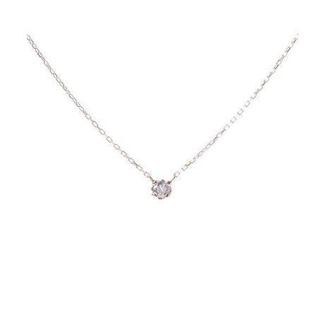 [型番:00091320401101]◇Samantha Tiara(サマンサティアラ)の一粒ダイヤネックレス大切な人へ、思いを込めて選ぶプレゼント、自分へのご褒美に選ぶプレゼントに。上品に輝くダイヤモンドをシンプルなデザインで毎日に輝きを添えてくれるジュエリーです。重ねづけするのもお勧めです。