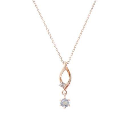 [型番:00091920403703]◇Samantha Tiara(サマンサティアラ)の【11月】誕生石ネックレスK10素材に11月の誕生石トパーズがセッティングされたネックレス。揺れるストーンが上品なデザイン。プレゼントにもおすすめです。