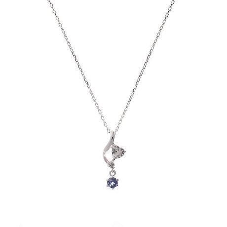 [型番:00091920404503]◇Samantha Tiara(サマンサティアラ)の【12月】誕生石ネックレスK10素材に12月の誕生石タンザナイトがセッティングされたネックレス。揺れるストーンが上品なデザイン。プレゼントにもおすすめです。