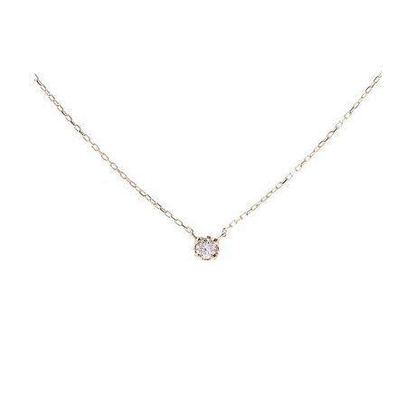 [型番:00091320401104]◇Samantha Tiara(サマンサティアラ)の一粒ダイヤネックレス大切な人へ、思いを込めて選ぶプレゼント、自分へのご褒美に選ぶプレゼントに。上品に輝くダイヤモンドをシンプルなデザインで毎日に輝きを添えてくれるジュエリーです。重ねづけするのもお勧めです。