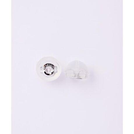 [型番:00090629904313]◇Samantha Tiara(サマンサティアラ)のK10WGピアスパーツ入りシリコンキャッチK10WGの地金のまわりをシリコンで包んだピアスキャッチ。シリコンで覆われているので耳あたりが良く、安心の着け心地。Samantha TiaraとSAMANTHA SILVAの商品でお使いいただけるキャッチでございます。