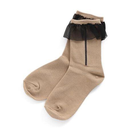 エフオーオンラインストアの女児ラインフリルソックス。BREEZE(ブリーズ)のタイツ・ソックス・レッグウォーマー「女児ラインフリルソックス」は、手頃な価格とおしゃれなデザインが人気!靴下のSS・S・10-12cm・13-15cm、タイツの70-80cm・80-90cm・90-100cmには基本的に靴下に滑り止め加工がございます。(一部除外あり)#BREEZE[型番:J154041]