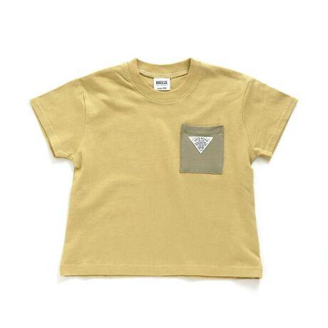 全12色展開のポケット付Tシャツは、本体カラー・ポケット・袖との配色カラーバリエーションがポイントになっております。今っぽい少しゆったりめのシルエットは男女共に着用頂けるデザインです。バックにいれたさりげないロゴも素敵なデザインに仕上がりました。#BREEZE【サイズ情報】80:着丈35 身幅33 肩幅29 袖丈8.5 袖口幅11.590:着丈37 身幅34 肩幅30 袖丈9 袖口幅12100:着丈40 身幅36 肩幅32 袖丈10 袖口幅12.5110:着丈43 身幅38 肩幅33 袖丈11.5 袖口幅13120:着丈46 身幅40 肩幅35 袖丈12.5 袖口幅13.5130:着丈49 身幅42 肩幅37 袖丈14 袖口幅14.5140:着丈52 身幅44 肩幅39 袖丈15.5 袖口幅15.5150:着丈55 身幅46 肩幅41 袖丈17 袖口幅16.5※商品により多少の誤差が生じる事がございます。あらかじめご了承下さい。※サイズは、平置きの状態で、商品の【外寸】を測定した物です。[型番:J207751]