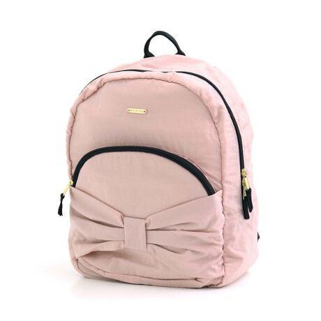☆通園通学FO☆apres les cours(アプレレクール)のバッグ「リボンリュック」は、カラフルな色使いがかわいい!コーディネートのポイントにもなります!大人気のリボンリュックに、新色のベージュも新登場◎シンプルなカラーはどんなコーディネートにも合わせやすいのでおすすめ♪女の子らしいピンクや、落ち着いた色合いのネイビーブルーも要チェック!#apreslescours【サイズ情報】S:タテ30 ヨコ22 マチ12.5 肩ベルト長さ26M:タテ36 ヨコ27 マチ17 肩ベルト長さ30※商品により多少の誤差が生じる事がございます。あらかじめご了承下さい。※サイズは、平置きの状態で、商品の【外寸】を測定した物です。[型番:V466029]