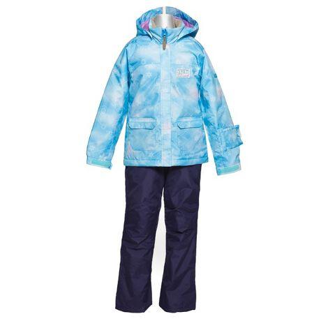 [型番:65654113]グラデーションの中に雪の結晶が浮かぶプリント柄ジャケットのガールズスキースーツ■耐水圧5000mm■はっ水加工■サイズ調整機能(ジャケットの袖丈、パンツの丈を調整可。目安として表示サイズ-15cm~+5cmの身長で着用可)■脱着フード、フードアジャスター付き■ジャケット裾ドローコード■パスケース■ウェストアジャスター■おしりに縫い目が無く濡れにくいノンシームヒップ仕様■足口スパッツ【SVS63P02】※比較対照価格はメーカー希望小売価格です。