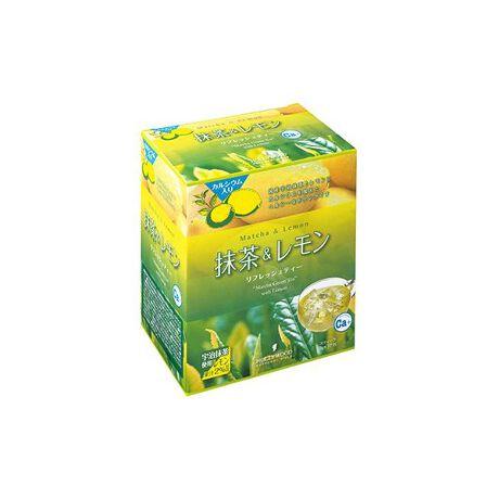 [型番:B335010]ビタミン・ミネラルを豊富に含んだ抹茶とレモンにバランスよくカルシウムを加えたドリンクです。エネルギーとして消費されやすいしょ糖と果糖を甘みとして使用しているので、疲れた時や気分をシャキッとさせたい時におすすめです。 <健康食品/7g×72包>※こちらの商品は阪神梅田本店の取り扱いとなります。