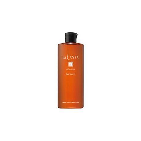 [型番:B327047]さらさら潤うつや髪に洗い上げるシャンプー。メーカー型番:05048ヘアソープ21傷んだ髪をアミノ酸系洗浄成分(*1)がやさしく洗い上げるシャンプーです。植物成分(*2)をはじめ、ハーブエキス(*2)を配合し、髪と頭皮をすこやかに保ちながら、さらさらでつややかな質感に。ラベンダー油やグレープフルーツ果皮油などのエッセンシャルオイル(*3)をブレンドした、やさしいシトラスハーブの香りです。(*1)頭皮、毛髪を清浄にする成分(*2)保湿、毛髪頭皮保護成分(*3)天然香料(芳香成分)<シャンプー/300ml>