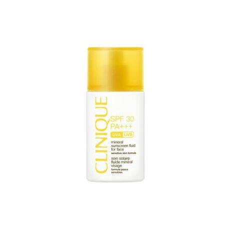 [型番:B1730072]紫外線に強く、肌にはやさしく。メーカー型番:ZJYP016000UVケアの大切さを提唱し続けてきた「クリニーク」から、デイリーに使いやすいサン ケア4製品が仲間入り。紫外線吸収剤不使用(ノンケミカル)の顔用日焼け止め乳液。敏感肌にも安心してお使いいただけます。「クリニーク」のサンケア シリーズは、すべて100%無香料、アレルギーテスト済み(*)。男女を問わず、小さなお子様から大人まで、ますます幅広くお使いいただけるラインアップになりました。サングラスをかけるように、さっと身につけて、太陽と毎日賢くつきあいましょう!(*)ただしすべてに方にアレルギーが起きないというわけではありません。<顔用日焼け止め乳液/30ml/SPF30・PA+++/1種>