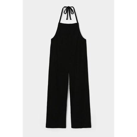 [型番:010DA780-5720]【RIB HALTER JUMPSUIT】カジュアルなシーンで活躍間違いなしのカットソーオーバーオールです。一枚でももちろん、お気に入りのTシャツと合わせて着ていただくのもオススメです。