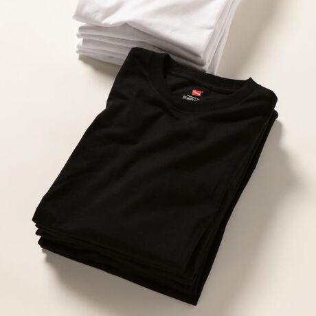 シップス エニィ(メンズ)(SHIPS any)のSHIPS any×Hanes: 別注 ベーシック ユーティリティ Tシャツ。無地Tシャツの王道ブランド「Hanes/ヘインズ」のベーシックなTシャツを別注した1着。型から完全に依頼したエクスクルーシブアイテムで、キッズ2サイズ、レディース2サイズ、メンズ3サイズとシームレスサイズで展開。体型や好みでジェンダーレスでお選びいただけるオススメアイテムとなっています!また、パッケージデザインも別注し、ZIPLOCKのようなスライド開閉式のパッケージは小物入れなどで再利用可能。単なる包装用で廃棄してしまいがちなパッケージではなく、他の事にも有効活用できそうなサステナブルを意識したアイテムとなっています。※1枚ずつでの販売となっております。予めご了承ください。※画像の商品はサンプルです。実際の商品と仕様、加工、サイズが若干異なる場合がございます。予めご了承下さい。[型番:712130001]