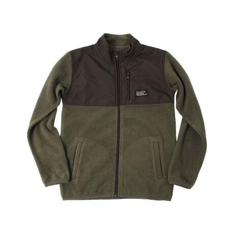 グラソスのマイクロフリース・切替デザインジップアップジャケットふんわり暖かいフリース素材のジップアップジャケットの登場です。同色のナイロンとの切り替えでシンプルながらもデザイン性の高い一枚。袖と裾はパイピング仕様で動きやすくスッキリとした印象に♪フードの無いデザインなので、学校用のアウターとしてもオススメです。自宅でイージーケア出来て伸縮性抜群のフリースジャケットは、冬の外遊び用やスポーツシーンにも最適◎保温性高く、サラッと気軽に羽織れるので寒い時期のアウターに重宝します。胸のピスネームでアクセントをプラスし、普段着としてはもちろん、アウトドアシーンでも活躍してくれます。もたつかないスッキリとしたシルエットで、どんなボトムとも相性抜群♪様々なスタイルに馴染むカラー展開で、デイリーに使い回しのきくアウターになること間違いなしのアイテムです!【伸縮性】ややあり■GLAZOSのお洋服は格好良いシルエットを目指し、一般的なお洋服より少し細身の作りにしております。実寸サイズをご確認の上、サイズをお選び下さいませ。【モデル】身長147cm、体重33kg 着用サイズ:150cm[型番:3703249]