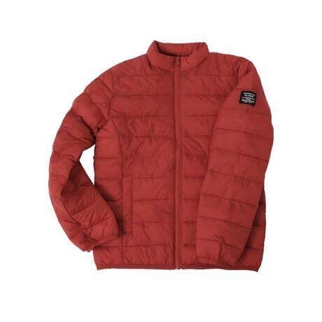グラソスの中綿ライトジャケット機能性のある中綿を使用したライトジャケットです。上品な光沢のある高密度タフタを使用。中綿にはCOZMIX Rebornという機能性を持った綿を使用し、軽くてあたたかなライトジャケットに仕上げました◎スタンドカラーで首元までしっかりとカバーし、あたたかさを逃しません。ボリュームを程よく抑えたシルエットが動きやすく、ライトアウターとしてもインナーとしても着られるお役立ちアイテム。ロンTやトレーナーの上から気軽に羽織れるのはもちろん、ジャケットやコートの下にインナーとして着用いただけ、着回しやすいデザインが特徴。ベーシックなカラーから、コーデのアクセントになるグリーンやレッドをご用意。袖につけたオリジナルロゴネームもデザインのアクセントになっており◎トップスはオーバーサイズなフードパーカーをインナーに合わせたレイヤードスタイルに、パンツはテーパードパンツやスキニーパンツを合わせたストリートな着こなしがオススメです。デザイン良し、機能性良し、着回し力抜群の優れものアウター、ぜひ1度お試しください♪<COZMIX Reborn綿とは>独自の混綿技術により、環境にも配慮した高い快適性と発熱性を実現した機能綿。環境を配慮した繊維(使用済みPETボトルを再生した繊維)と、機能繊維(発熱・保温)を合わせたものです。【重量】130cm:約240g140cm:約265g150cm:約290g160cm:約325g【伸縮性】なし■この製品に使用している中綿は、柔らかく軽さを特徴とした粒状のものを使用しております。その為、洗濯後に中綿が片寄る場合がありますが、完全に乾燥させてから中綿をほぐすように軽く叩き、中綿が均一になるように整えてください。■GLAZOSのお洋服は格好良いシルエットを目指し、一般的なお洋服より少し細身の作りにしております。実寸サイズをご確認の上、サイズをお選び下さいませ。【モデル】身長150cm、体重35kg、着用サイズ:150cm(アカ)身長157cm、体重40kg、着用サイズ:160cm(グリーン)[型番:3703308]