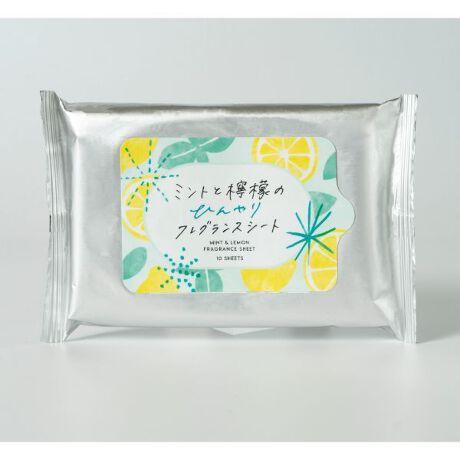 生活の木のミントと檸檬のひんやりシート(ボディーシート)汗のベタつき、ニオイのもとをさっぱりふき取るボディーシートです。日本の夏をイメージした爽やかでかわいらしいパッケージも嬉しい!ほてった肌に清涼感を与えて引き締めます。(手指の拭き取りにもご使用いただけます)ひんやり感とともに、肌にしっとり感を与え、汗をかいた時だけでなく、気分をスッキリしたい時にもおすすめです。スポーツ後や学校、オフィスなどの外出先で汗ばんだ時、リフレッシュしたい時に脇の下、首すじ、腕、胸元、脚など全身に使えます。[型番:S-K0039]