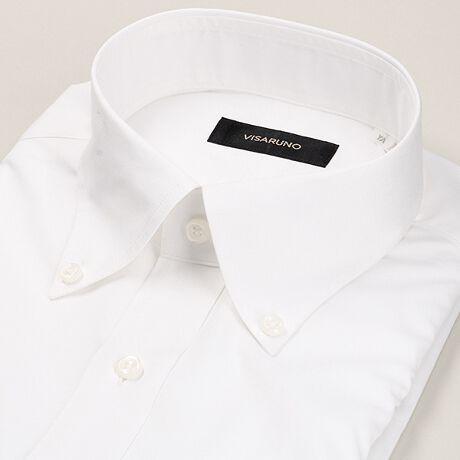 ビサルノ(VISARUNO)の(形態安定加工生地)[ラクチンすっきりワイシャツ][衿型]ボタンダウン [柄・織柄]ブロードすっきり着られる独自の立体シルエット。シワになりにくい形態安定加工生地使用で、ご家庭洗濯でのお手入れもラクチン。―――ソロテックス(R)-SOLOTEX(R)―――あらゆるものの着心地や使い心地を快適にする、無限の可能性を秘めた繊維です。―優れた形態回復性 動きを加えても「戻ろう」とする形態回復性を発揮。シワになりにくく、「肘抜け」や「膝抜け」などの型崩れも抑えて美しいシルエットを保ちます。また、洗濯やタンブラー乾燥を繰り返しても伸び縮みが少なく、寸法安定性にも優れています。―軽快なストレッチ性 身体の動きに合わせて自在に伸縮。ストレスを感じることなく、思いのままに動ける快適な着心地をお届けします。素材提供:帝人フロンティア株式会社[型番:BAMUB401N]